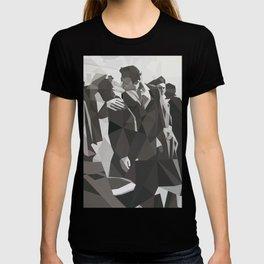 Geometric Kiss T-shirt