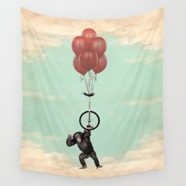 The Unicycle Incident Wall Tapestry