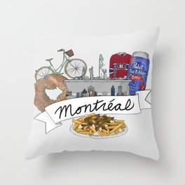 A summarized guide to Montreal Throw Pillow