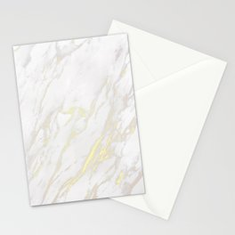 Marble Textured Background Stationery Cards