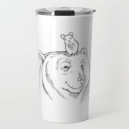 Bear and Mouse Travel Mug