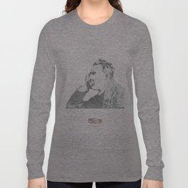 nietzsche on canvas board Long Sleeve T-shirt