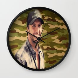 Country Girl Shake it For Me Wall Clock