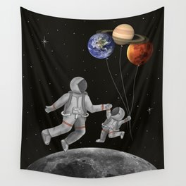 Con papá Wall Tapestry