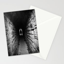 The Silhouette at the End of the Tunnel Stationery Cards