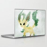 leaf Laptop & iPad Skins featuring Leaf by Melissa Smith