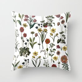 flowers for all Throw Pillow