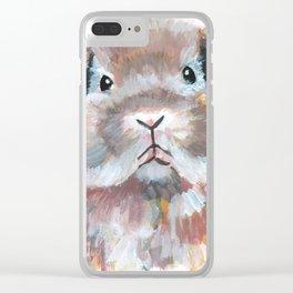 Radish the Rabbit Clear iPhone Case