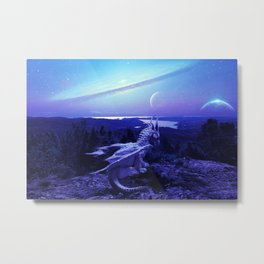 Dragon View Metal Print