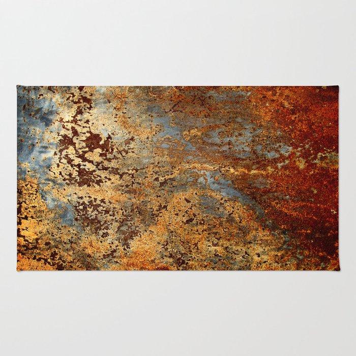 Beautiful Rust Rug