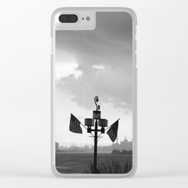 storm rolling out Clear iPhone Case