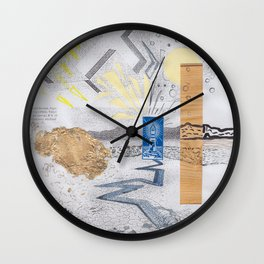 Shed light on the water crises Wall Clock
