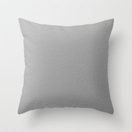 Modern Silver Sparkle Texture Throw Pillow