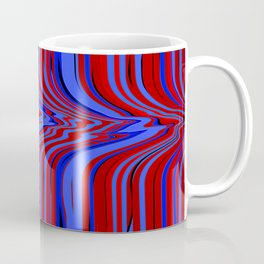 red and blue flowing Coffee Mug