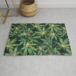 Leaf Your Troubles Behind  Rug