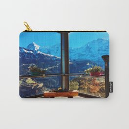 Swiss Alps Looking Glass Carry-All Pouch