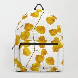 Gold Leaf Art Backpack