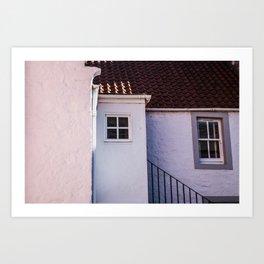 Pastel Cottage Art Print