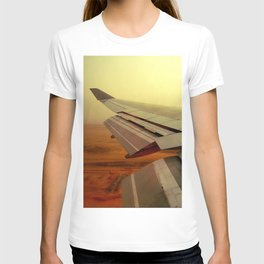 View From Plane T-shirt