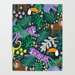 jungle madness Poster