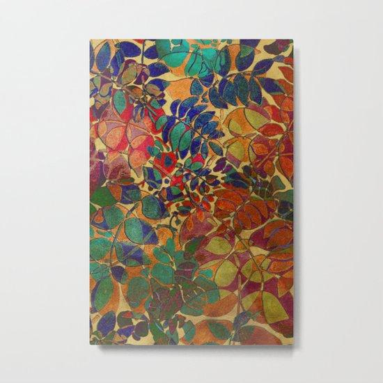 Love of Leaves Metal Print