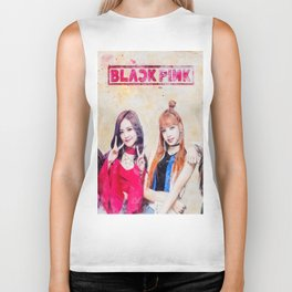 Black Pink in your area Group Biker Tank