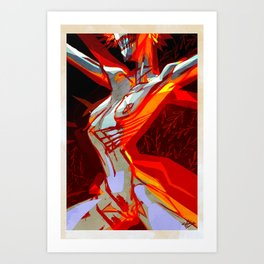 Flame by Anna Helena Szymborska Art Print