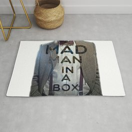 Mad Man in a Box Rug
