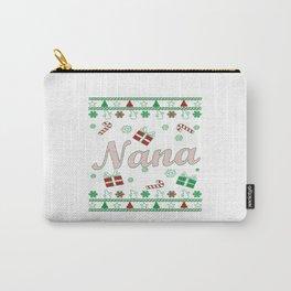 Nana Christmas Carry-All Pouch