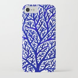 Fan Coral – Navy iPhone Case