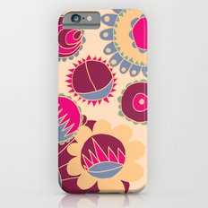 Flower Doodle iPhone 6s Slim Case