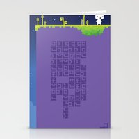 fez Stationery Cards featuring FEZ - Conspire to Tesselate by Reed Erlandson