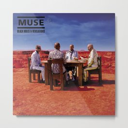 Muse - Black Holes & Revelations Metal Print