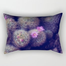 Little Cactus Flowers Rectangular Pillow