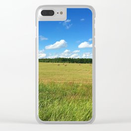 Summer field #society6 #buyart #buy #decor Clear iPhone Case