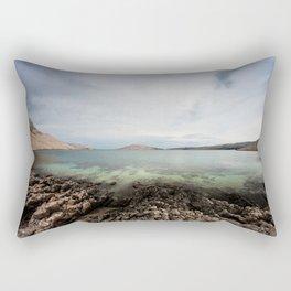 Under horizon Rectangular Pillow