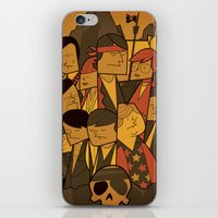 goonies iPhone & iPod Skins featuring The Goonies by Ale Giorgini