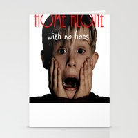 home alone Stationery Cards featuring Home Alone by Darius Malone