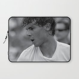"Rafael ""Rafa"" Nadal "" King of Clay"" court playing tennis at the Miami Open Laptop Sleeve"