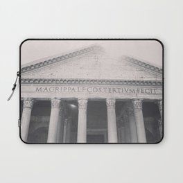 The Pantheon, fine art print, black & white photo, Rome photography, Italy lover, Roman history Laptop Sleeve