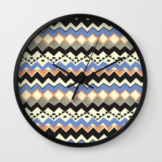 Ethnic Color Wall Clock
