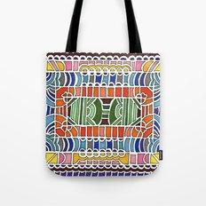 Geometric Drawing Meditation Tote Bag