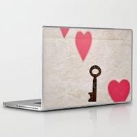 key Laptop & iPad Skins featuring Key by SilverSatellite