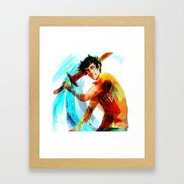 percy Framed Art Print