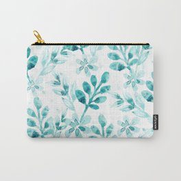 Watercolor Floral VV Carry-All Pouch