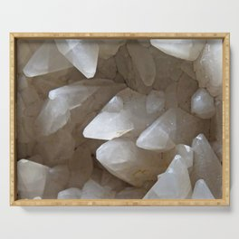 Crystal Cave Serving Tray