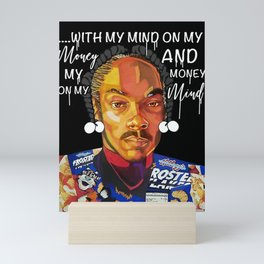 Snoop Dogg Mini Art Print