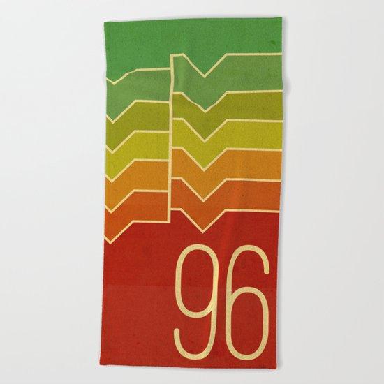 Nineteen ninety six Beach Towel