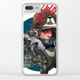 Junker's Delight Clear iPhone Case