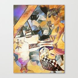 Piano and Voice Canvas Print